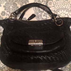 Authentic Coach Kristin leather satchel